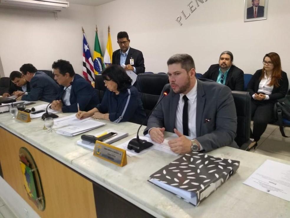 Ministério Público acompanha CPI da saúde em Imperatriz — Foto: Divulgação/MPMA