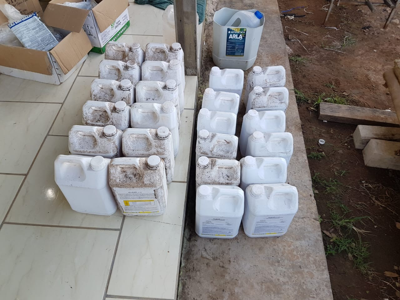 PF prende 5 pessoas em MT e SP em operação que investiga contrabando e adulteração de agrotóxicos