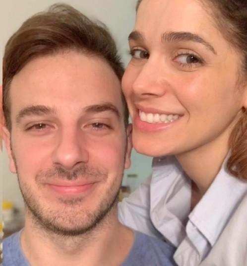Ramón Velazquez e Sabrina Petraglia (Foto: Reprodução)