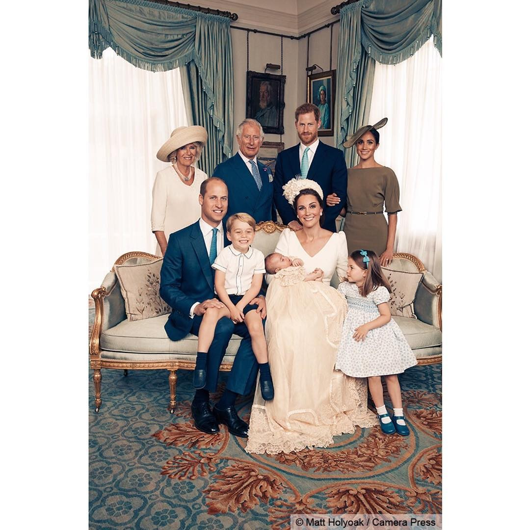 Família real reunida (Foto: Reprodução Instagram)