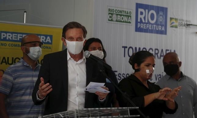 Prefeito Marcelo Crivella