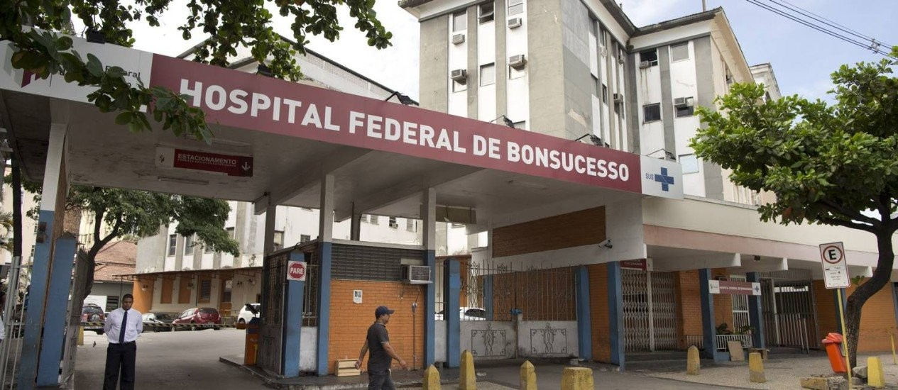 O Hospital Federal de Bonsucesso