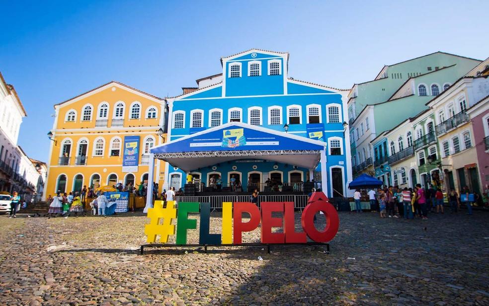 Quarta edição da Flipelô acontecerá entre os dias 10 e 13 de dezembro, com transmissão pela internet — Foto: Leto Carvalho/Divulgação