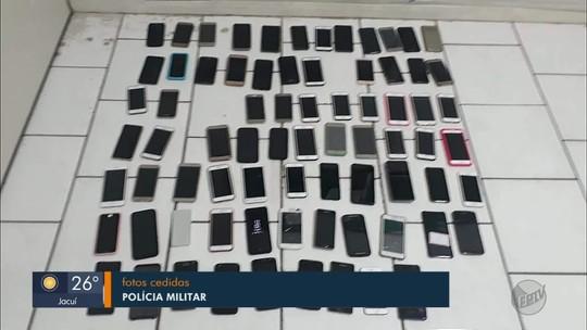 Polícia recupera mais de 100 celulares roubados e prende 12 pessoas após festa em Itajubá, MG