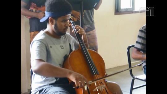 Confira trechos do ensaio da orquestra e do coral da Sociedade São Miguel em Barbacena