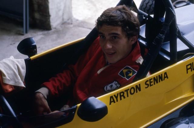 Ayrton Senna em 1982 (Foto: Editora Globo)