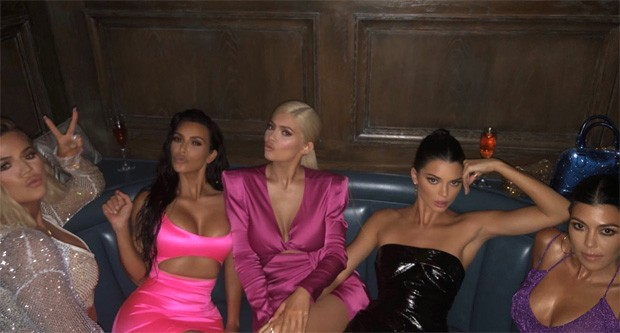Khloé, Kim, Kylie, Kendall e Kourtney (Foto:  )