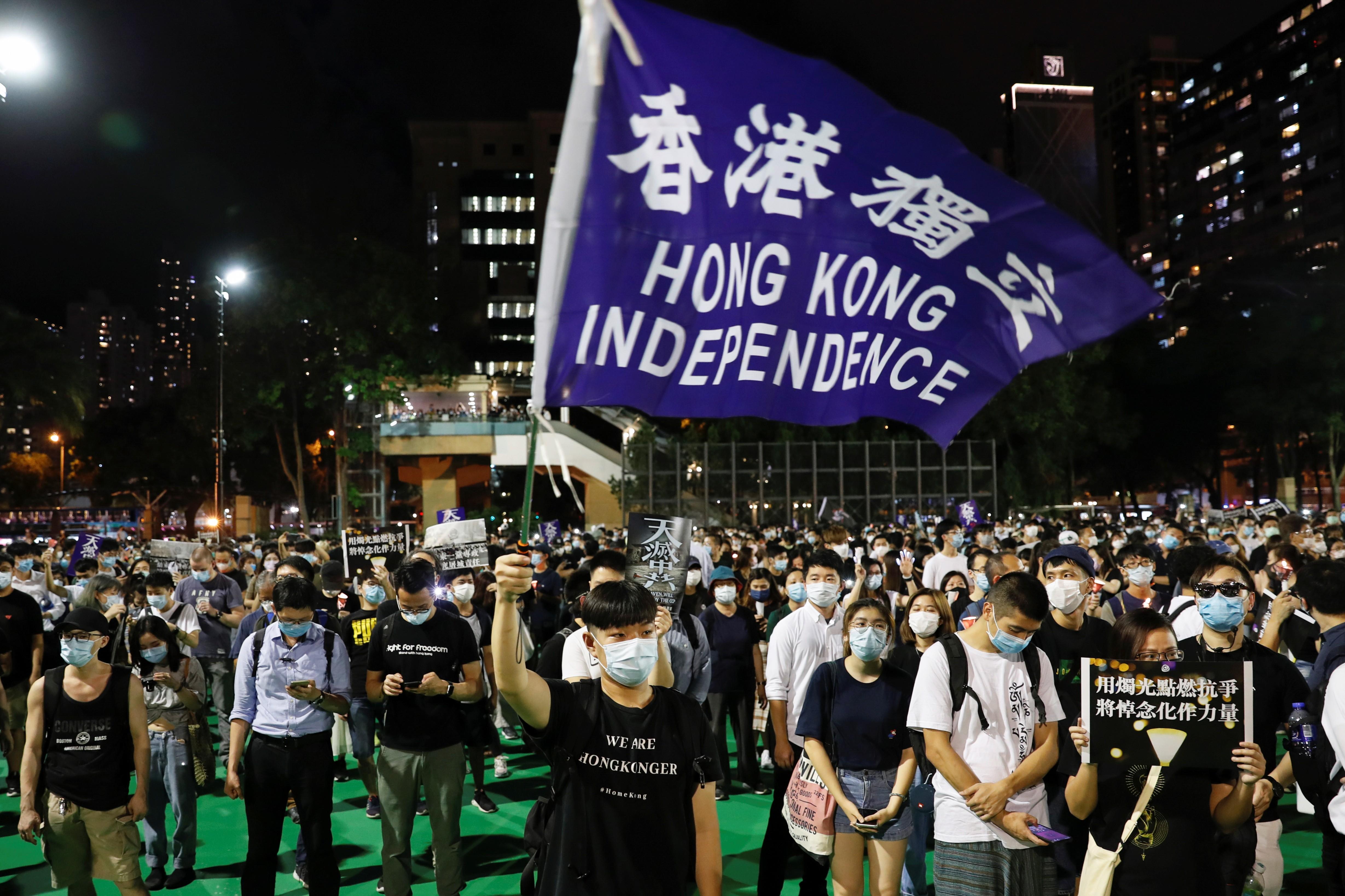 GB, EUA e outros aliados pedem eleições em Hong Kong