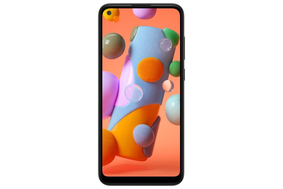 Galaxy A11 tem tela de 6,4 polegadas e resolução HD+ — Foto: Divulgação/Samsung