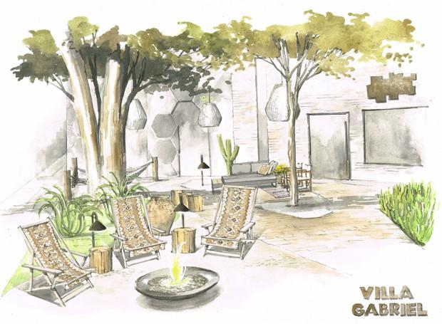 Villa Gabriel | Revitalização da praça da Alameda Gabriel onde acontecerá workshops, palestras e atividades exclusivas para o DW!2018 (Foto: Divulgação)