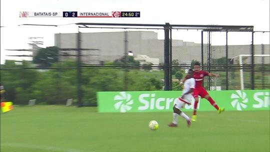 Melhores momentos: Batatais 0 x 2 Internacional pela Copa SP de futebol júnior