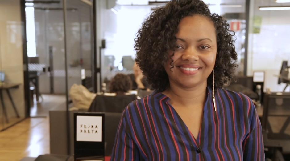 Adriana Barbosa, fundadora da Feira Preta, foi capa da PEGN (Foto: Editora Globo)