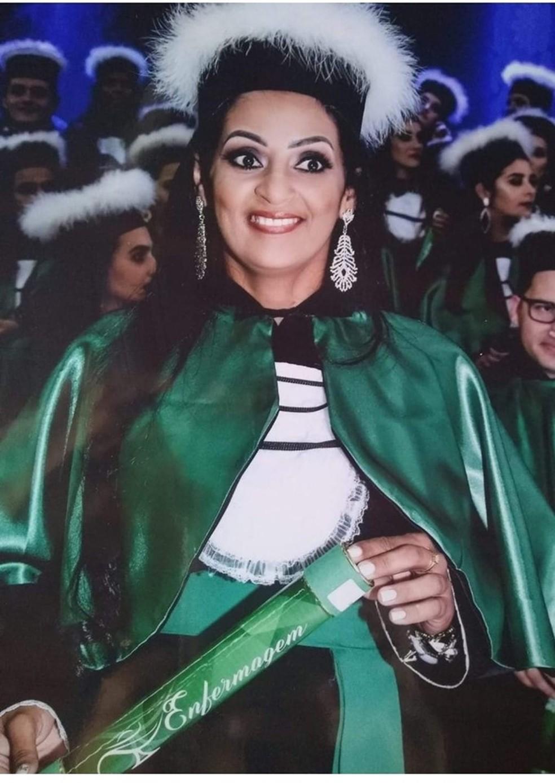 Zuilda Correia Rodrigues, de 43 anos, está desaparecida em Sinop — Foto: Facebook/Reprodução