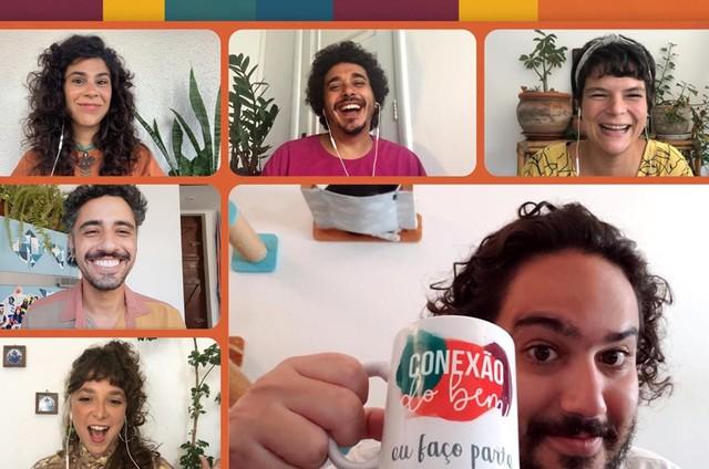 Grupo Conexão do Bem (Foto: Reprodução)