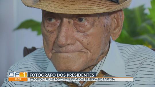 Fotojornalista Gervásio Baptista é homenageado com exposição em Taguatinga