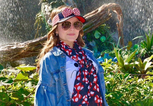 Em janeiro de 2019, Larissa Manoela curte férias na Disney (Foto: Reprodução/Instagram)