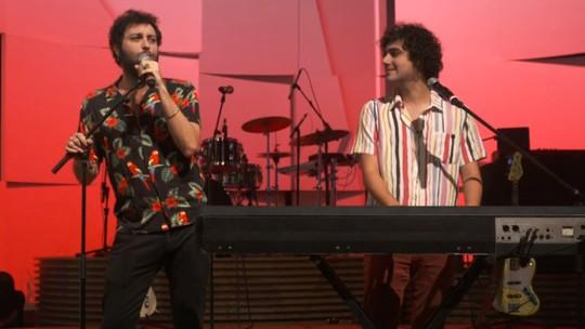 George Sauma e Pedroca Monteiro comemoram projeto musical: 'Nosso show é para ser feliz, livre, se jogar'