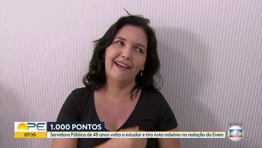 Candidata do Grande Recife revela os caminhos de conquista da nota mil na redação do Enem