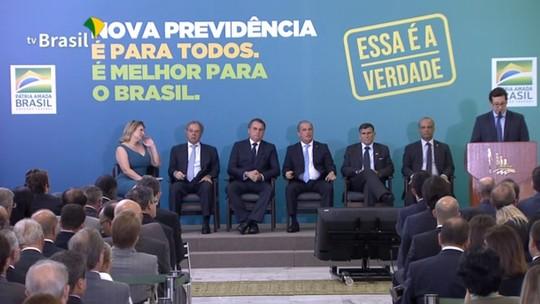 ASSISTA: Bolsonaro e Guedes lançam nova campanha da Previdência