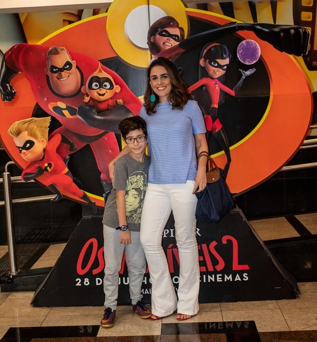 A jornalista Rita Lisauskas e o filho, Samuel (Foto: Daniel das Neves)