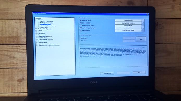 Como entrar na BIOS de um notebook da Dell | Notebooks | TechTudo