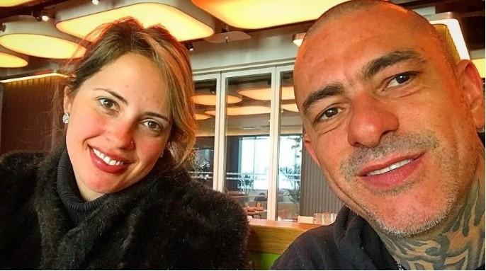 Carine Ludvic e Henrique Fogaça  (Foto: Reprodução/Instagram)