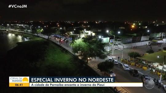 Inverno no Nordeste: temperaturas amenas atraem turistas para Parnaíba, no Piauí