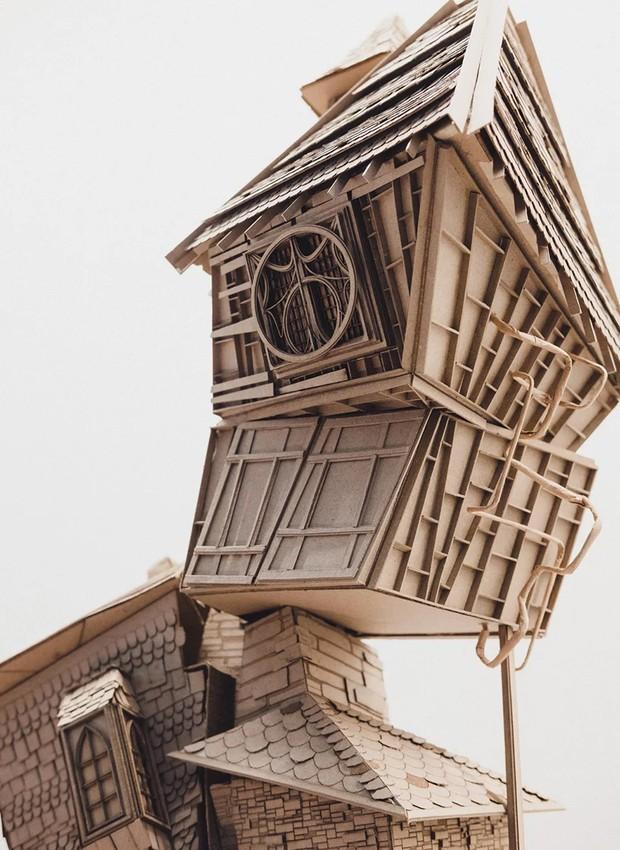 Toca da Família Weasley, de Harry Potter (Foto: Melbourne School of Design/ Reprodução)