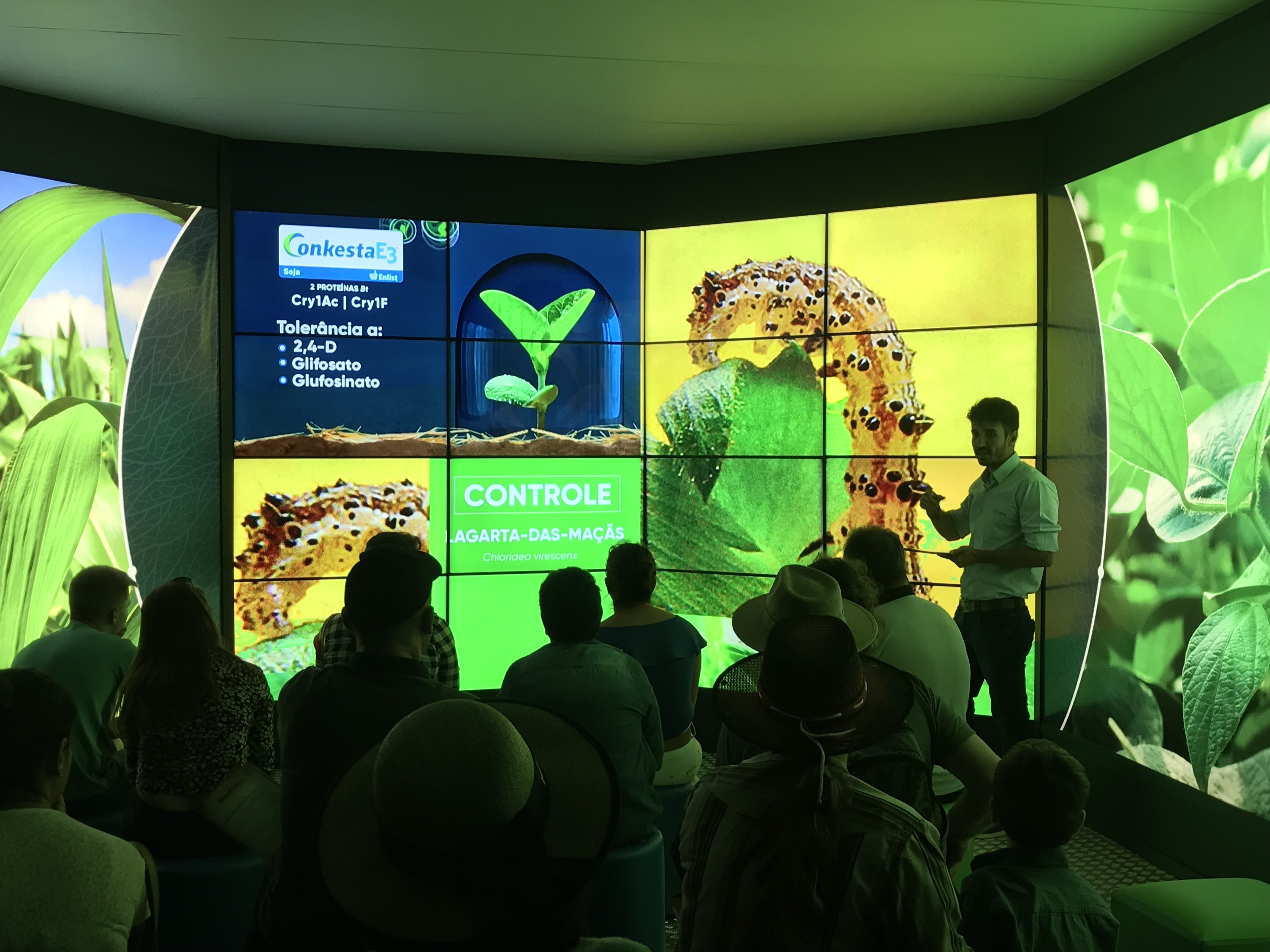 Apresentação da Corteva Agriscience, Divisão Agrícola da DowDuPont, no Show Rural Coopavel (Foto: Divulgação)