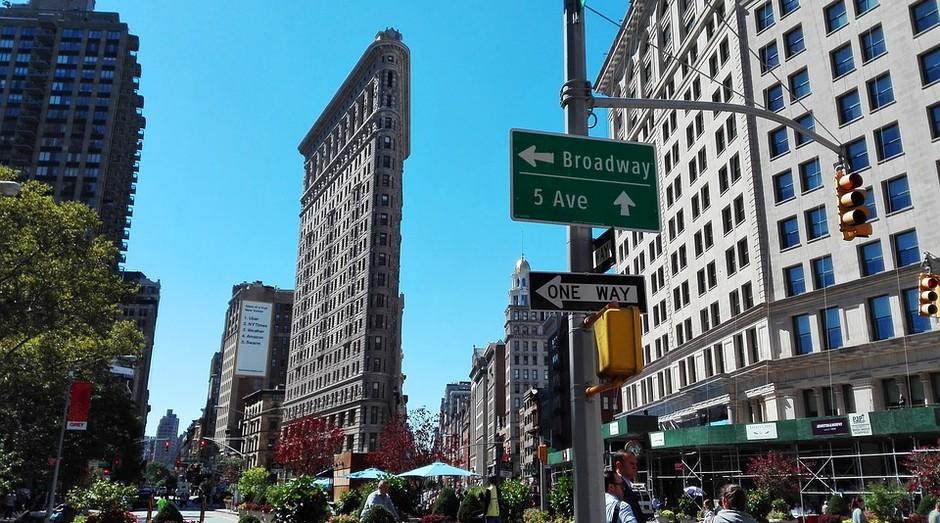 O Flatiron é um dos edifícios mais conhecidos de Nova York (Foto: Pixabay)