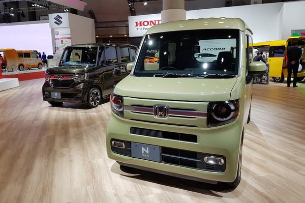 Honda deixou ao alcance do público dois kei jidosha, aqueles simpáticos carrinhos de baixa cilindrada (Foto: Ulisses Cavalcante/ Autoesporte)
