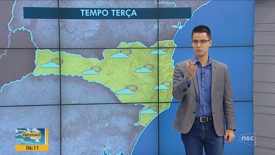 Serra registra a primeira temperatura negativa de 2019 em SC; FOTOS