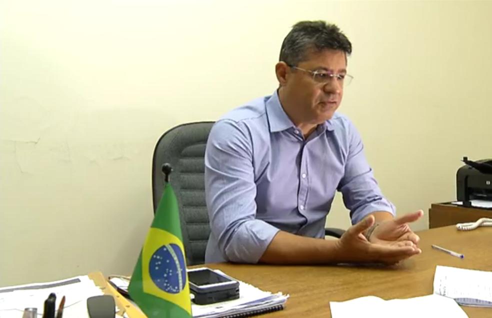 Fred Queiroz é investigado por suposto esquema envolvendo o ex-ministro, Henrique Alves (PMDB) (Foto: Reprodução/Inter TV Cabugi)