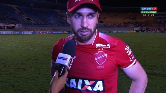 """Elias lamenta empate e fim das chances de acesso do Vila: """"Não faltou luta"""""""