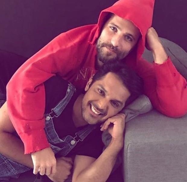 Bruno Gagliasso e Renner Souza (Foto: Reprodução/Instagram)