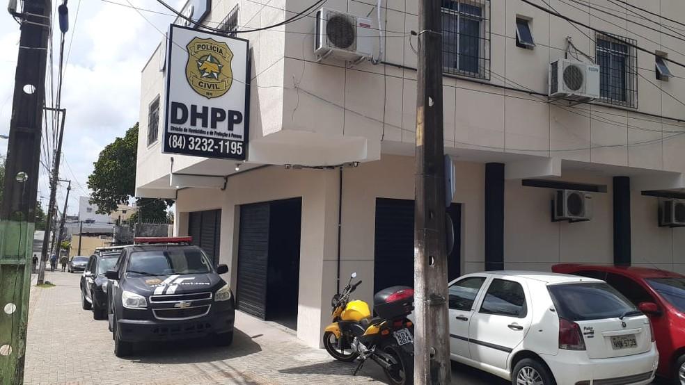 DHPP Natal, Divisão de Homicídios e de Proteção à Pessoa — Foto: Kléber Teixeira/Inter TV Cabugi