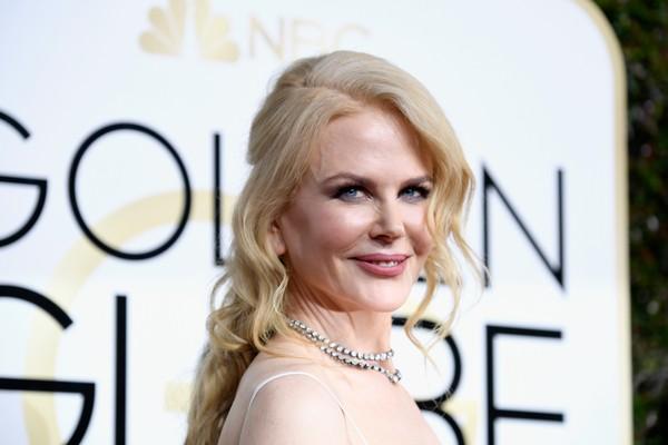 A atriz Nicole Kidman na cerimônia do Globo de Ouro 2017 (Foto: Getty Images)