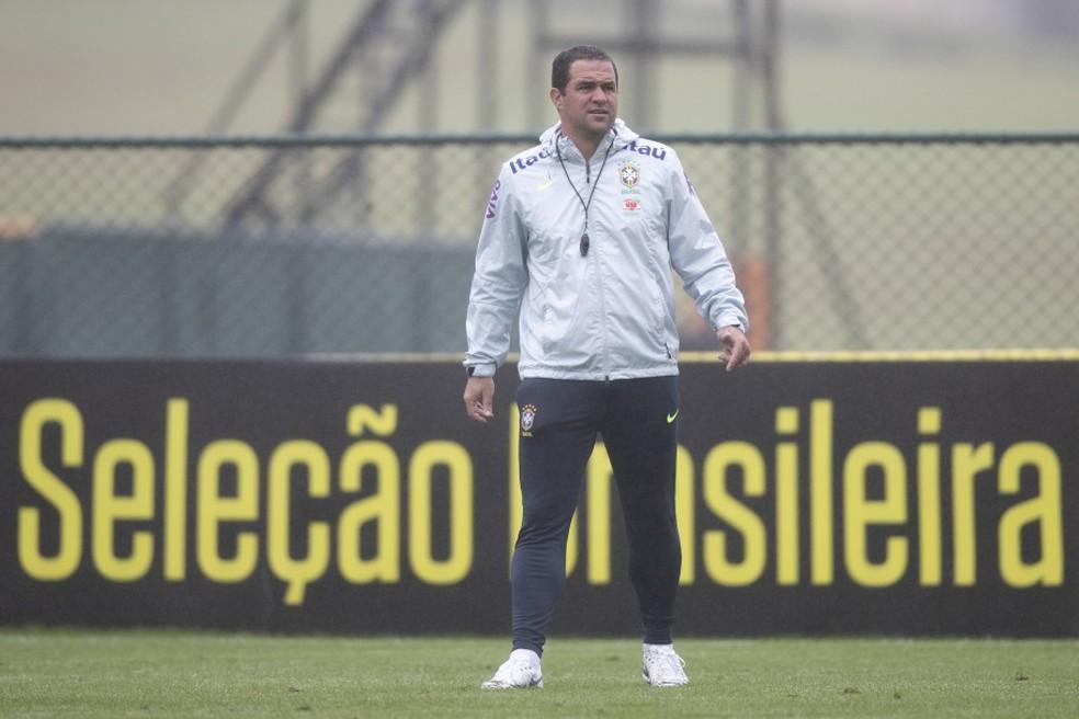 André Jardine será o técnico da seleção olímpica no torneio — Foto: Lucas Figueiredo / CBF