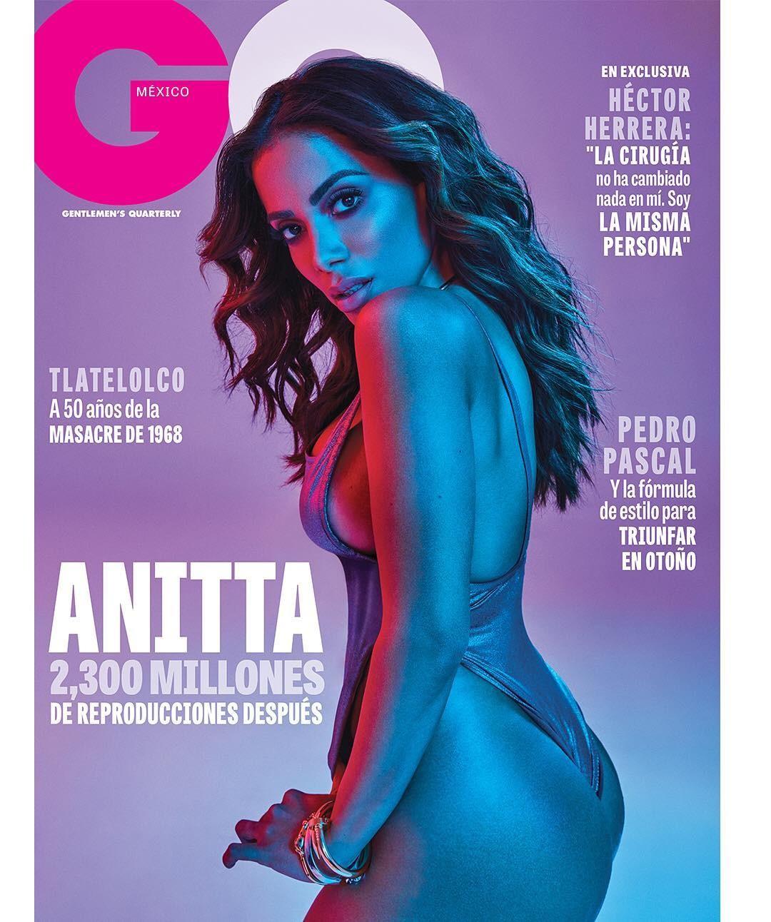 Anitta na capa da GQ Mexico (Foto: Reprodução)