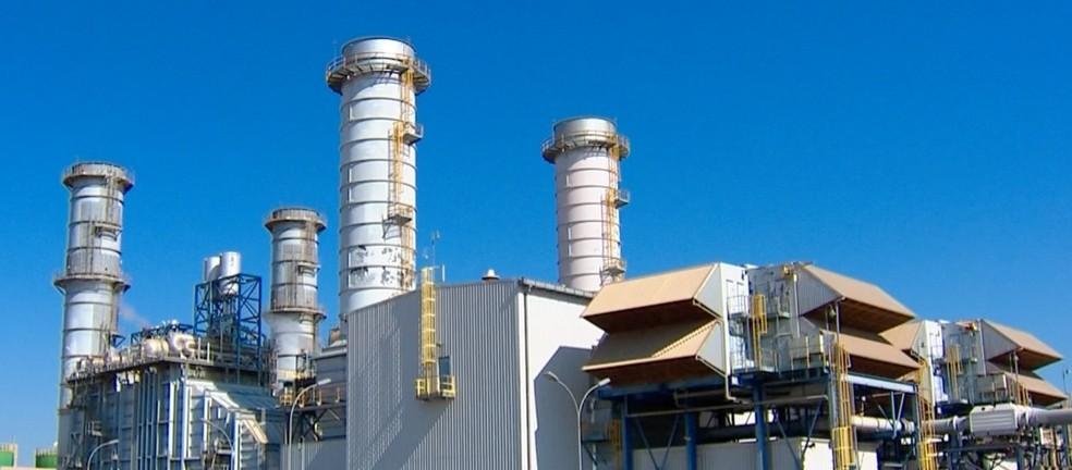 Usina Termelétrica de Cuiabá (MT) — Foto: TVCA/Reprodução