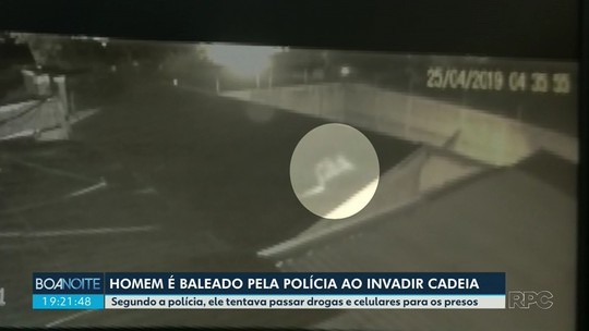 Homem é baleado pela polícia ao invadir cadeia de Marialva; vídeo