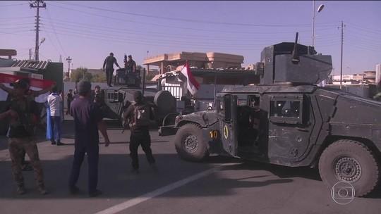 Forças do Iraque tomam cidade petrolífera de Kirkuk dos curdos