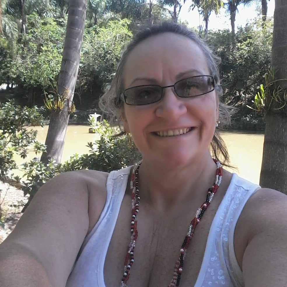Jurema Santos era enfermeira em Matinhos, no litoral do Paraná — Foto: Reprodução/Facebook