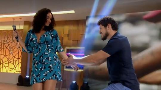 Débora Nascimento e José Loreto mostram sintonia total na vida e na dança