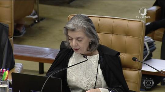 Ministra Cármen Lúcia vota no julgamento sobre compartilhamento de dados fiscais
