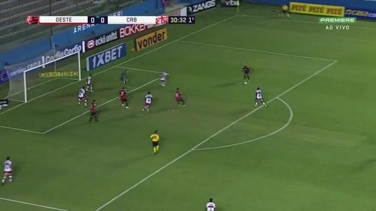 Laterais e contra-ataques: o mapa dos 13 gols sofridos pelo CRB