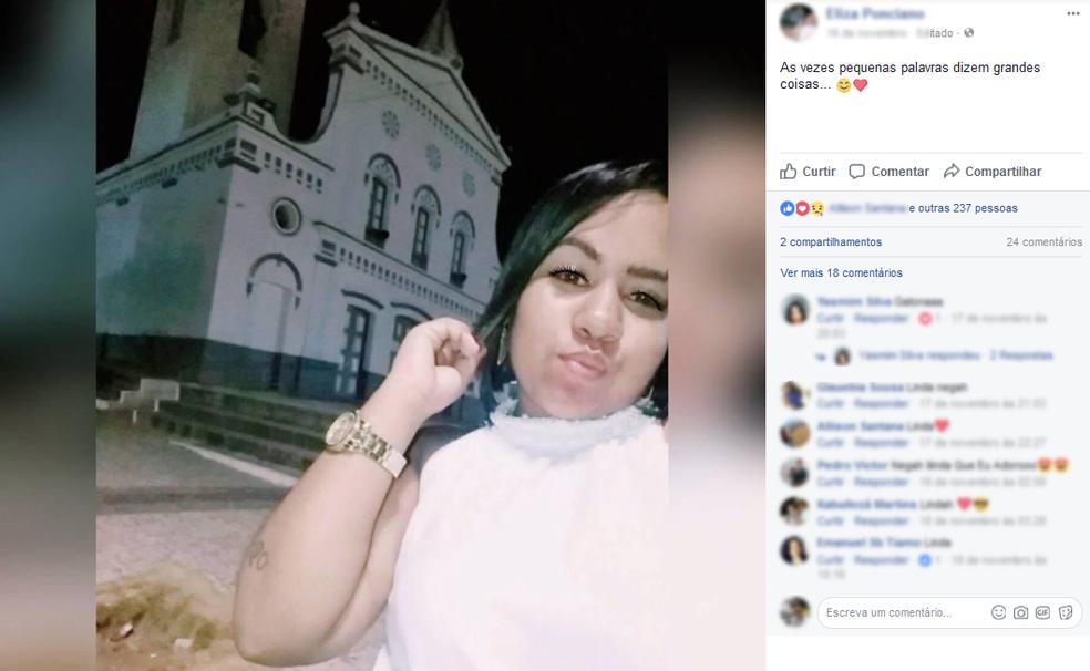 Jovem saiu de casa para a academia e não retornou para casa. Delegacia de Quixadá investiga o caso. (Foto: Facebook/Reprodução)
