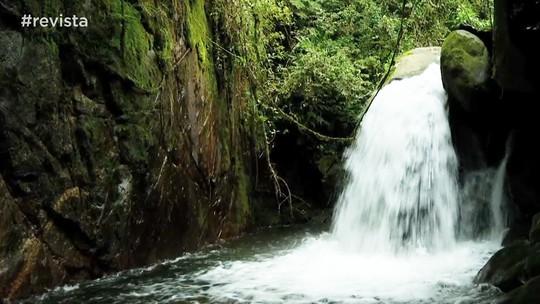 Conheça a cachoeira 'Toca da Raposa'