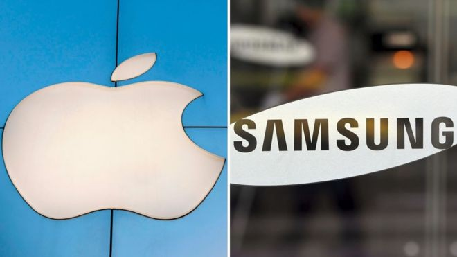 Apple e Samsung anunciaram receitas menores do que o previsto no último trimestre de 2018 (Foto: Getty Images)