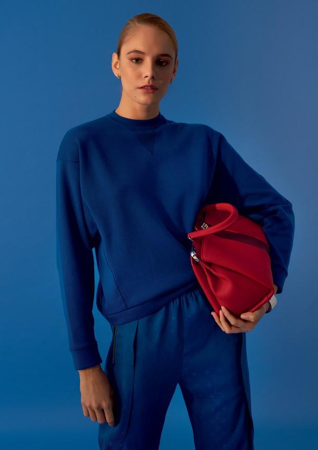 Azul é a cor mais quente  (Foto: Arquivo Vogue/ Denny Sach)